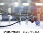 manufacturing of wiring... | Shutterstock . vector #1192793566