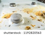 dirty unhygienic white gas... | Shutterstock . vector #1192820563
