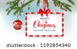 christmas festive holiday... | Shutterstock .eps vector #1192854340