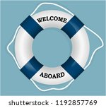 """welcome aboard"" lifebuoy.... 