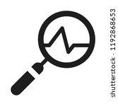 business search icon | Shutterstock .eps vector #1192868653