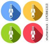 zipper tool icon  close state....