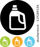 jerrycan   vector icon isolated | Shutterstock .eps vector #119289154