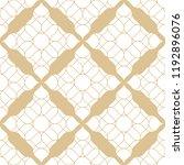 vector golden abstract seamless ...   Shutterstock .eps vector #1192896076