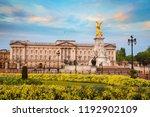 buckingham palace in london  uk | Shutterstock . vector #1192902109