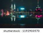 kuala lumpur  malaysia  ...   Shutterstock . vector #1192903570