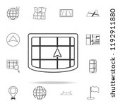 cursor on the navigator icon....