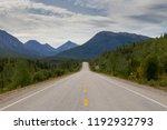 the world famous alaska highway | Shutterstock . vector #1192932793