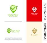 finance point logo designs... | Shutterstock .eps vector #1192933573