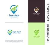finance point logo designs... | Shutterstock .eps vector #1192933576