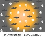 halloween pattern background | Shutterstock .eps vector #1192933870