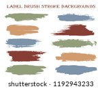 trendy label brush stroke... | Shutterstock .eps vector #1192943233