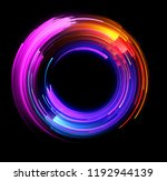 vivid abstract background.... | Shutterstock . vector #1192944139