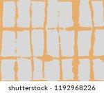 artistic tie dye geisha... | Shutterstock .eps vector #1192968226