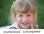 innocence  purity  youth. girl... | Shutterstock . vector #1192969999