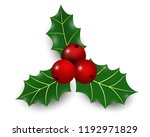 vector realistic hand drawn... | Shutterstock .eps vector #1192971829