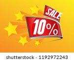 sale 10   beautiful greeting... | Shutterstock .eps vector #1192972243