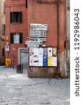 perugia  italy  may 13  2013 ... | Shutterstock . vector #1192986043