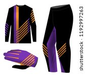 templates jersey for mountain... | Shutterstock .eps vector #1192997263