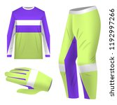 templates jersey for mountain... | Shutterstock .eps vector #1192997266