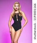 young beautiful woman posing in ...   Shutterstock . vector #1193001166