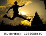 happy and energitic youn man... | Shutterstock . vector #1193008660