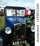 vintage austin seven car show... | Shutterstock . vector #1193012260