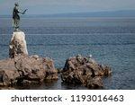opatija  croatia   august 26 ...   Shutterstock . vector #1193016463