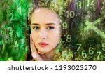 world of numerology | Shutterstock . vector #1193023270