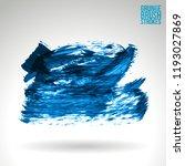 blue brush stroke and texture.... | Shutterstock .eps vector #1193027869