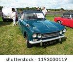 vintage vitesse car show... | Shutterstock . vector #1193030119