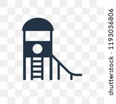 playground vector icon isolated ... | Shutterstock .eps vector #1193036806