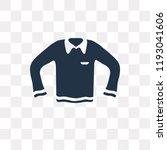 long sleeves t shirt vector...   Shutterstock .eps vector #1193041606