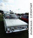 vintage vauxhall ambulance car... | Shutterstock . vector #1193047669