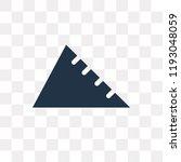 angle ruler vector icon...   Shutterstock .eps vector #1193048059