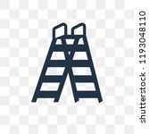 double ladder vector icon... | Shutterstock .eps vector #1193048110