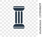 column vector icon isolated on... | Shutterstock .eps vector #1193048659
