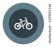 bike vector icon | Shutterstock .eps vector #1193051146