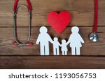 health care and insurance... | Shutterstock . vector #1193056753