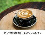 latte art coffee. | Shutterstock . vector #1193062759