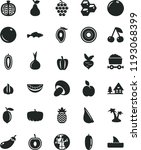solid black flat icon set... | Shutterstock .eps vector #1193068399