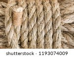 Sisal Rope Background  Natural...