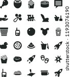 solid black flat icon set image ... | Shutterstock .eps vector #1193076190