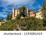 hohenschwangau castle  schloss...   Shutterstock . vector #1193081419