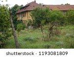 an old deserted socialist... | Shutterstock . vector #1193081809