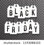 black friday price sale text...   Shutterstock .eps vector #1193088103