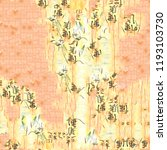chinese seamless watercolor... | Shutterstock . vector #1193103730