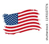 flag of united states of... | Shutterstock .eps vector #1193107576