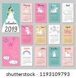 hand drawing vector calendar...   Shutterstock .eps vector #1193109793