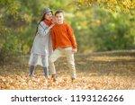 children's fashion in nature... | Shutterstock . vector #1193126266